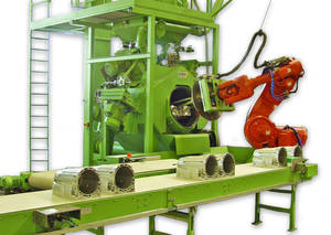 Rösler developed this highly efficient processing system to deburr and surface finish transmission housings.