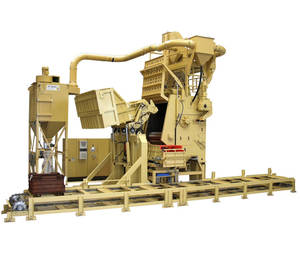 The RMBC 8.2 shown at GIFA 2011 was especially designed for foundries and forge shops.