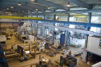 Blick in die AGTOS-Fertigungshalle in Konin (PL)