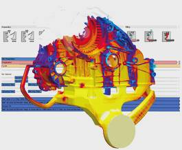 The process orientation of MAGMA5 illustrated using die casting