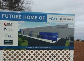 USA - CONSTRUCTION IS NOW UNDERWAY ON THE NEW GF LINAMAR MANUFACTURING FACILITY