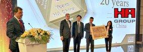 20 Years HA China - Congratulations