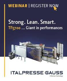 #ThinkBig: How to produce large structural diecasting parts even more simple – The Italpresse Gauss way of casting