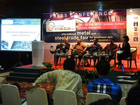 indometal 2013: First staging of metal and steel exhibition in Indonesia attracts leading global companies and strong industry support