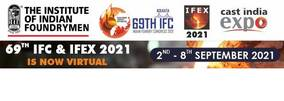 The 69th Indian Foundry Congress will be virtual in September 2021