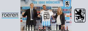 Roeren GmbH is the new Löwen partner of TSV 1860 München. The company specializes in consulting for the manufacturing industry and is aiming for a long-term partnership with the 1860.