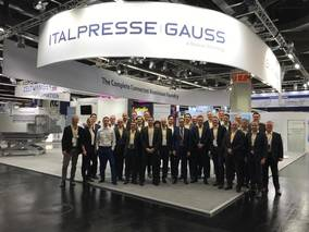 AT EUROGUSS 2020 ITALPRESSE GAUSS SHOWS THE FIRST AND THE BIGGEST TOGGLE-FREE TWO-PLATEN DIE CASTING MACHINE WITH A CLOSING FORCE OF 5700T