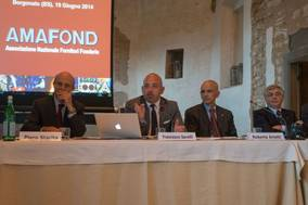 Francesco Savelli was re-elected President of AMAFOND for a second term until 2016