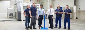 GF Casting Solutions Leipzig GmbH opens innovative 3D core printing center