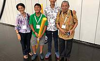 Mr. Achmad Safiun, President of the Indonesian Foundry Association Ablindo, and  his family