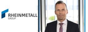 Jörg Grotendorst named new Member of the Executive Board of Rheinmetall AG