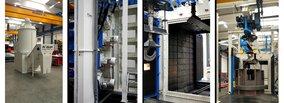Rösler: In-line blast cleaning for a wide range of castings