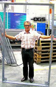 DGS Druckguss Systeme AG: Die casting with record dimensions