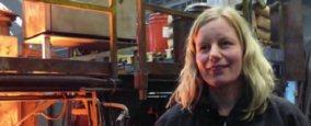 Stefanie Bischof, Head of Melting Operations at ERGOCAST