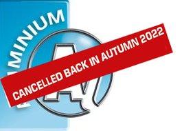 ALUMINIUM: Trade fair will be back in 2022