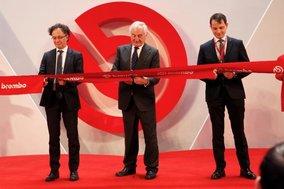 CN - Brembo Inaugurates Its New Aluminum Brake Caliper Production Hub in Nanjing