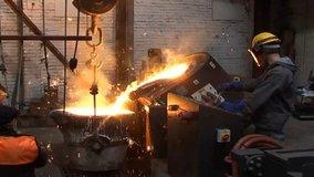 Meltech Ltd Mag-Melt Hydraulic Tilting Furnace