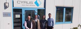New foundry in Macedonia relies on vibration technology made by CYRUS