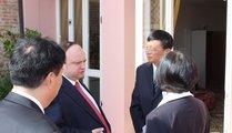 Mr. Andrej Dibrov, Mr. Zhang Libo, Fiona Fan_China Foundry Association