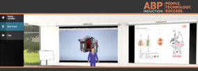 Virtual Classroom Session by ABP Induction  with presentations from Lungmuß and Saveway