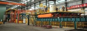 MGM - FUWA installs SUZHU moulding plant No. 5