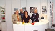 Booth of ENGINEERING ABLEIDINGER Switzerland and PROSID Italy