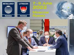GR-Messe Düsseldorf confirms new date: Find Metallurgy Russia and Litmash Russia will take place live in Moscow from June 7th to 9th, 2022