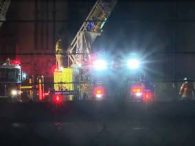 USA - Building at Kohler Co. catches fire