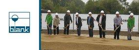 FEINGUSS BLANK: Spatenstich zum Baustart - ein erster Schritt in Richtung Digital Factory