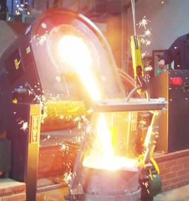 Meltech - Development strategy increases business for the UK's leader in rebuilt induction furnaces.