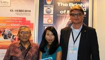 Achmed Safuin, President of Aplindo, Oanh Nguyen & Thomas Fritsch, Foundry Planet