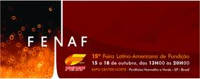 15th Latin American Foundry Fair attracts major national and international companies and anticipates trends and technologies for the sector, generating businesses of more than US$ 46 million