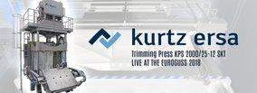 Even faster: Kurtz Trimming Press KPS 2000/25-12 SKT