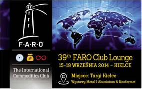at Targie Kielce FARO Club  Lounge business meeting and the Industry Conference