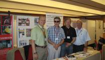 J. Hagenauer (+HAGI+) with his business partner INDUCTOTHERM J. Battey und HWS R. Schaumann and our friend H. R�dler