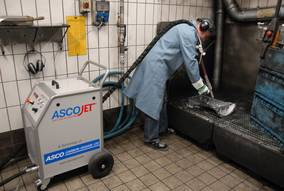 ASCOJET Dry Ice Blasting - introduction the efficient cleaning method