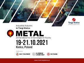Targi Kielce's METAL 2021 is gaining momentum