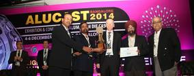 """JAYA HIND INDUSTRIES WINS THE ALUCAST """"BEST FOUNDRY 2014 - LARGE SCALE SECTOR""""  AWARD"""
