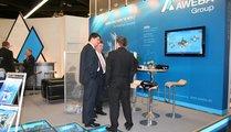AWEBA Werkzeugbau GmbH, Germany Dipl.-Ing. Axel Wittig / CEO (talking round left) and Mr. Jürgen Brocke / Sales Manager (talking round 2nd from left)