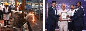 Demonstrating Indian Foundry Innovation: advanced Technology in Action at unique DISA Customer Event