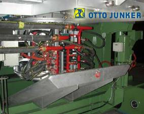 OTTO JUNKER: Induction furnaces for melting and pouring