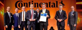 Eurac named Continental AG Supplier of the year 2015