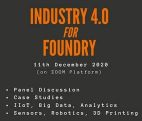 Metalworld Zoom Event - Industry 4.0 for Foundry