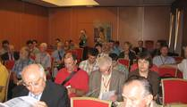 interested audience at the lectures