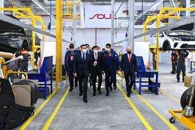 KAZ - Kazakh PM launches production of KIA cars in Kostanay