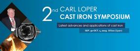 2nd Carl Loper Cast Iron Symposium will gather industry and academic professionals to share latest advances on Foundry technologies