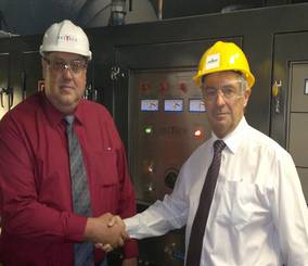 Meltech Furnace Technology at Newby Foundries Group