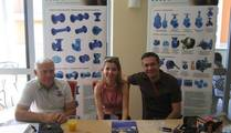 MIV the new head of the purchase department  Natala Cikac with her colleague Vasilic and Hrzenjak