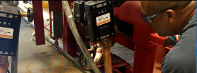 Ajax TOCCO Installs Twin Floating Inductor Weld Preheat System at High-Capacity, Heavy Duty, Fork Truck Manufacturer