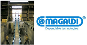 A U.S. iron foundry awards Magaldi a new rotary drum infeed conveyor